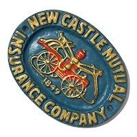 New Castle Mutual Insurance Company Aluminum Plaque