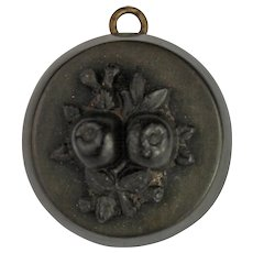 Antique Victorian Vulcanite Locket