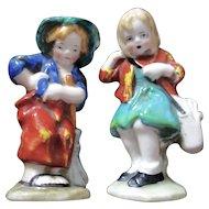 Darling Porcelain Girl Boy German Figurines
