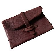Tiny Leather Envelope Purse For Mignonette