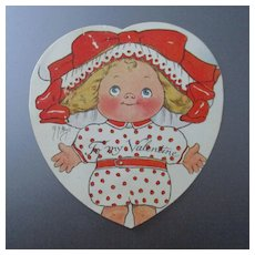 Margaret Hays Unused Valentine Bavaria