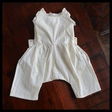 Smaller Doll Pantaloons with Attached Camisole Hand Sewn