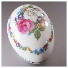 Limoges Trinket Box Roses