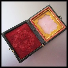 Small Victorian Tintype Case For Picture
