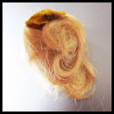 Blonde Mohair Wig For Mignonette