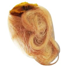 Blonde Mohair Wig For Mignonette