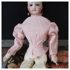 French Fashion Doll Pin Stripe Blouse