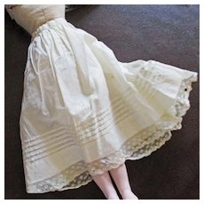 Beautiful Petticoat Tucks Lace