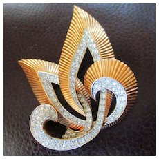 D'Orlan Large Statement Brooch