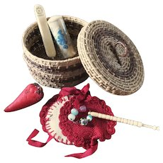 Sweet Grass Sewing Basket Sewing Items See more....