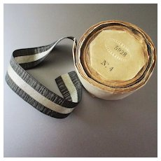 Beautiful French Metallic Silk Ribbon