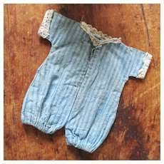Early Cotton Pin Striped Jumper Small Doll