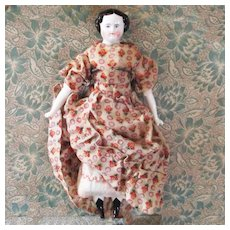 Sweet Dollhouse China Doll Original Tulip Dress & Homespun Petticoat