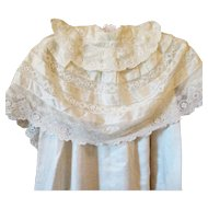 Lovely Lace Victorian Christening Coat