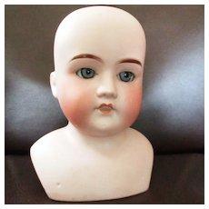 Lissy German Doll Head #2 Blue Eyes