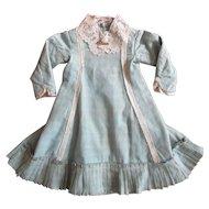Antique Original Victorian Doll Dress For Larger Doll