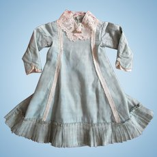 Antique Original Victorian Doll Dress For Larger Doll
