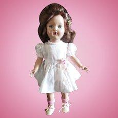 """Ideal 14"""" Toni Doll Original Dress"""