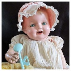 """26"""" Composition Happy Baby, 17 Pieces  Accessories/Clothes And Her Own Baby Doll"""