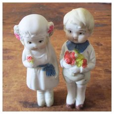 Bisque Cake Toppers