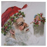 Mistletoe Santa With Beautiful Fashion Doll
