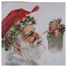 Mistletoe Santa With Beautiful Fashion Doll