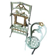 Simone & Rivollet French Hall Stand & Matching Parlour Chair