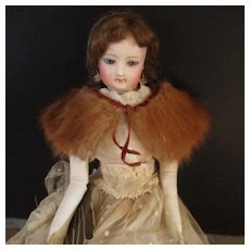 Beautiful Mink Stole For Fashion Doll
