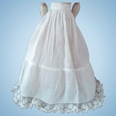 Lovely Floral Lace Perfect Petticoat Fashion Doll