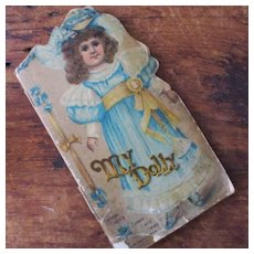 """My DollY """"Sunny Day Series"""" Raphael Tuck 1895"""