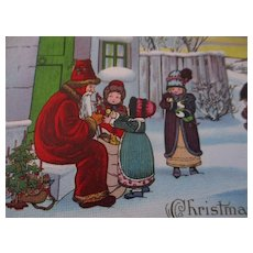Stecher Darling Kids Old Time Santa