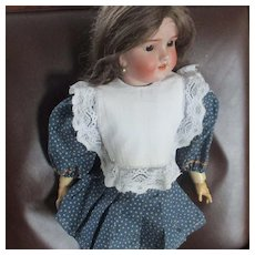 Doll's Darling Lace Bib Dress Front
