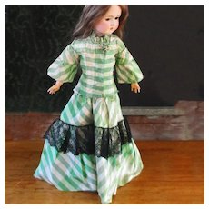 Silk Taffeta Fashion Doll two Piece Walking Suit