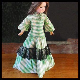 Silk Taffeta Fashion Doll two Piece Walking Suit