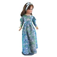 Pretty Silk Floral 2 Piece Dress