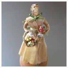 Rare Doll By Zella Layton Bean Banana Leaf Doll