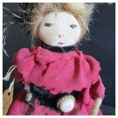 Kimsport Victorian Style Doll Feathers