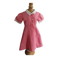 1940's Factory Dress For Doll Nice!