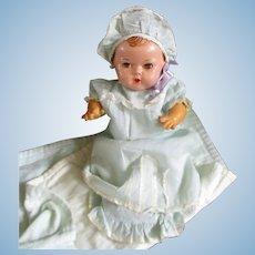"""Effanbee 11"""" Dy Dee Baby Doll Full Wardrobe"""