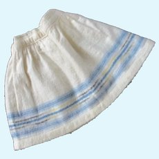 Nice Old Flannel Home Spun Doll Petticoat