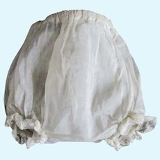 Vintage Organdy Lace Panties For German or Baby Doll