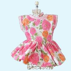 Pretty Flower Factory Dress For Smaller Walker Doll