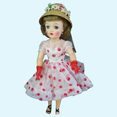 "Beautiful 18"" Miss Revlon Doll With Wardrobe"