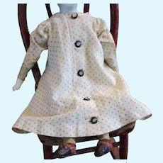 Wonderful Old Calico Robe For Smaller China Doll