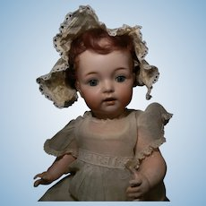 SALE!  Cutest Simon Halbig/K*R 121 Character Baby, Dimpled Smile