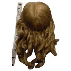 """Golden Blond Fancy Mohair Wig, 10-1/2"""" +"""