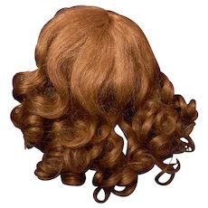 """Sale! Long Curl H.H. Wig, with Bangs, size 11"""""""