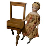 Cutest Doll House Young Lady w/Headband & Original Clothes