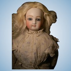Curly Silky Mohair Skin Backed Wig, Fashion or Early Doll