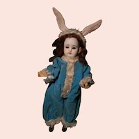 Little Belton in Bunny Outfit, Very Cute! no cracks!